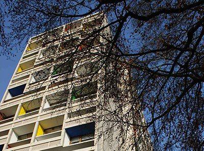 Unité d'Habitation de Le Corbusier à Briey